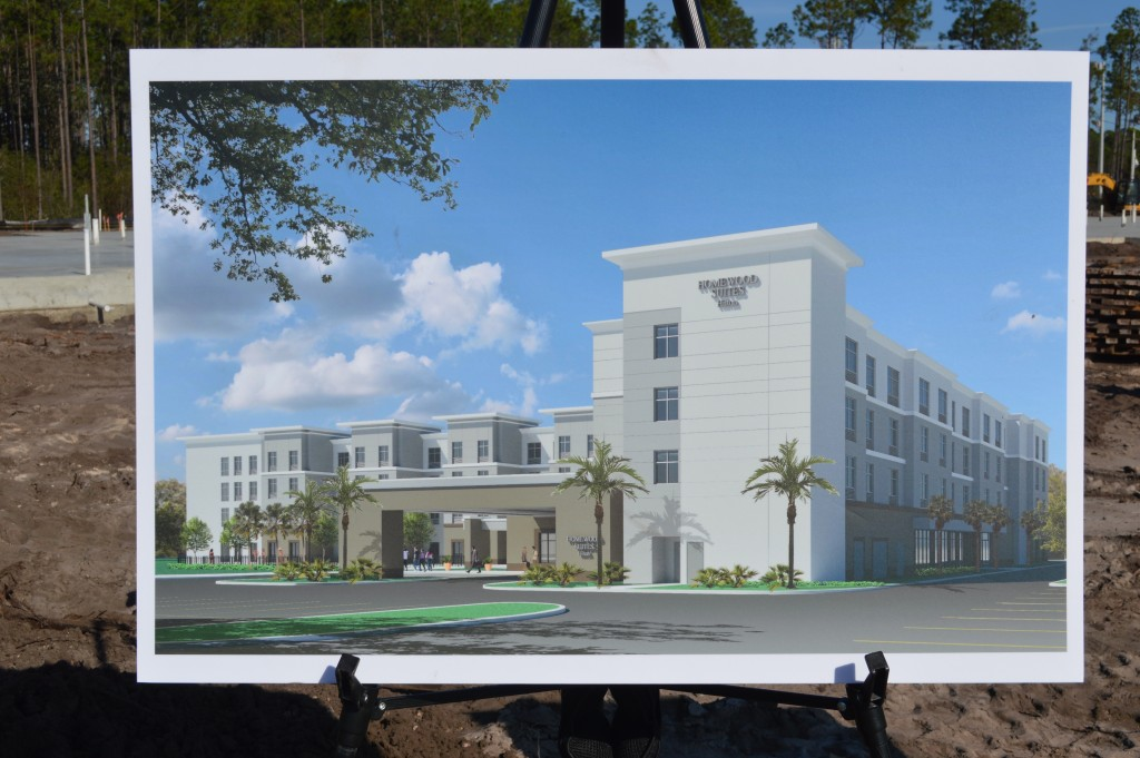Homewood Suites Rendering