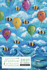 2021 Festival of the arts poster
